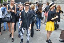 Показ моды в Милане